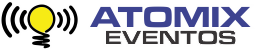 Atomix Eventos Logo